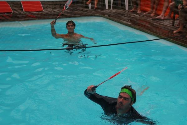 Championnat du Monde Water Badminton 2012: 1/8de finale