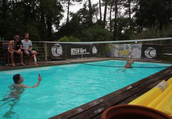 Water Badminton fille